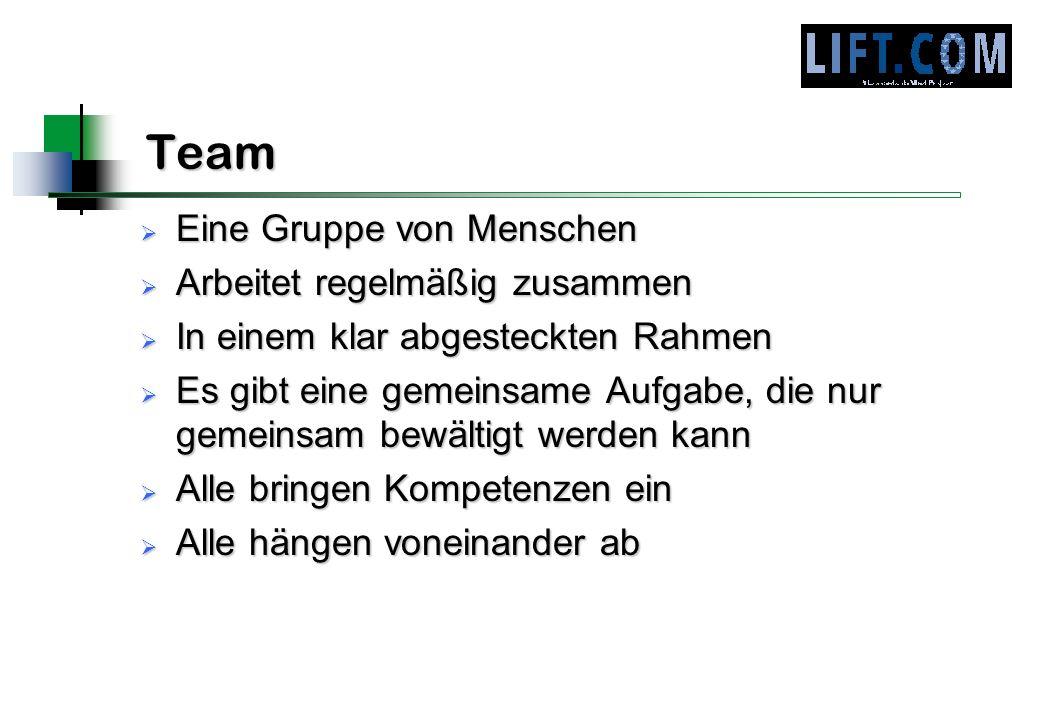 Team Eine Gruppe von Menschen Arbeitet regelmäßig zusammen