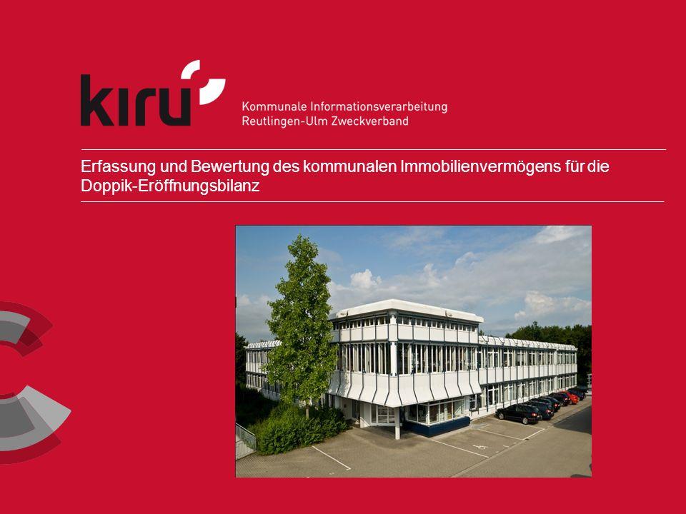 Erfassung und Bewertung des kommunalen Immobilienvermögens für die Doppik-Eröffnungsbilanz