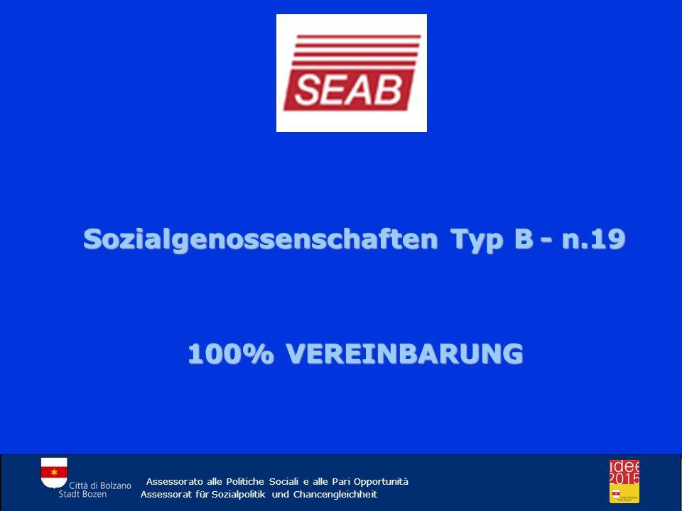 Sozialgenossenschaften Typ B - n.19