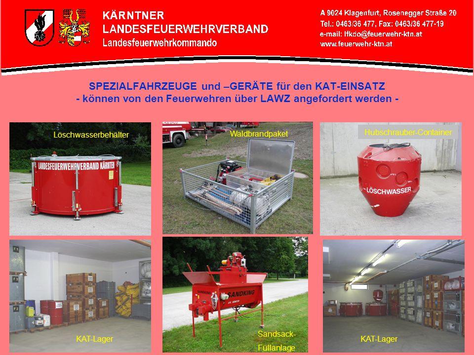 Hubschrauber-Container