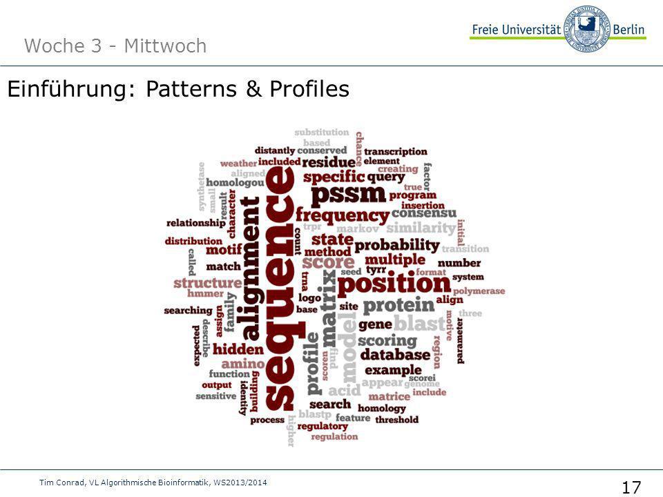 Einführung: Patterns & Profiles