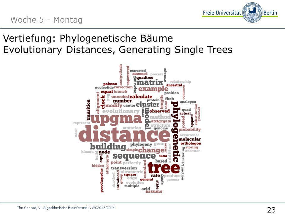 Vertiefung: Phylogenetische Bäume