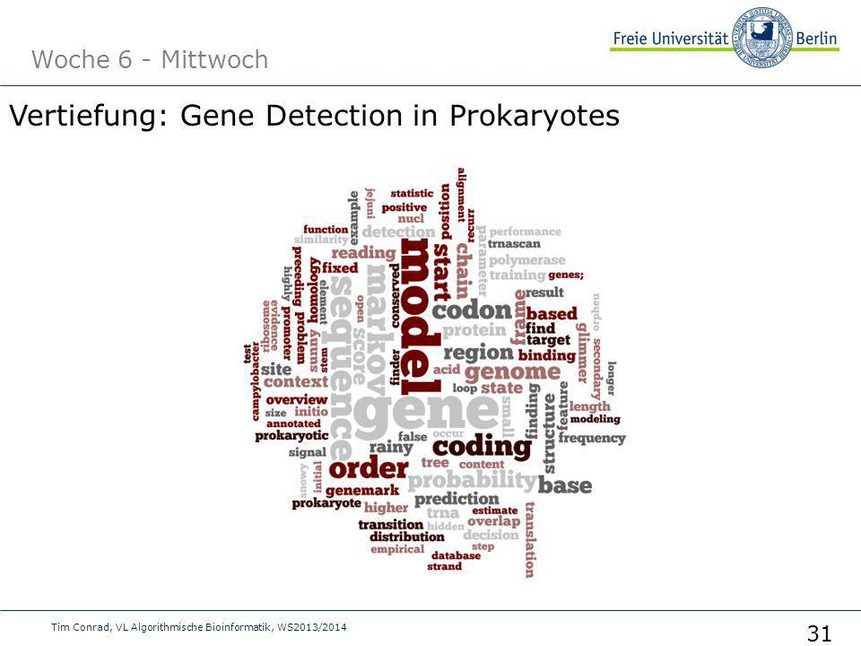 Vertiefung: Gene Detection in Prokaryotes