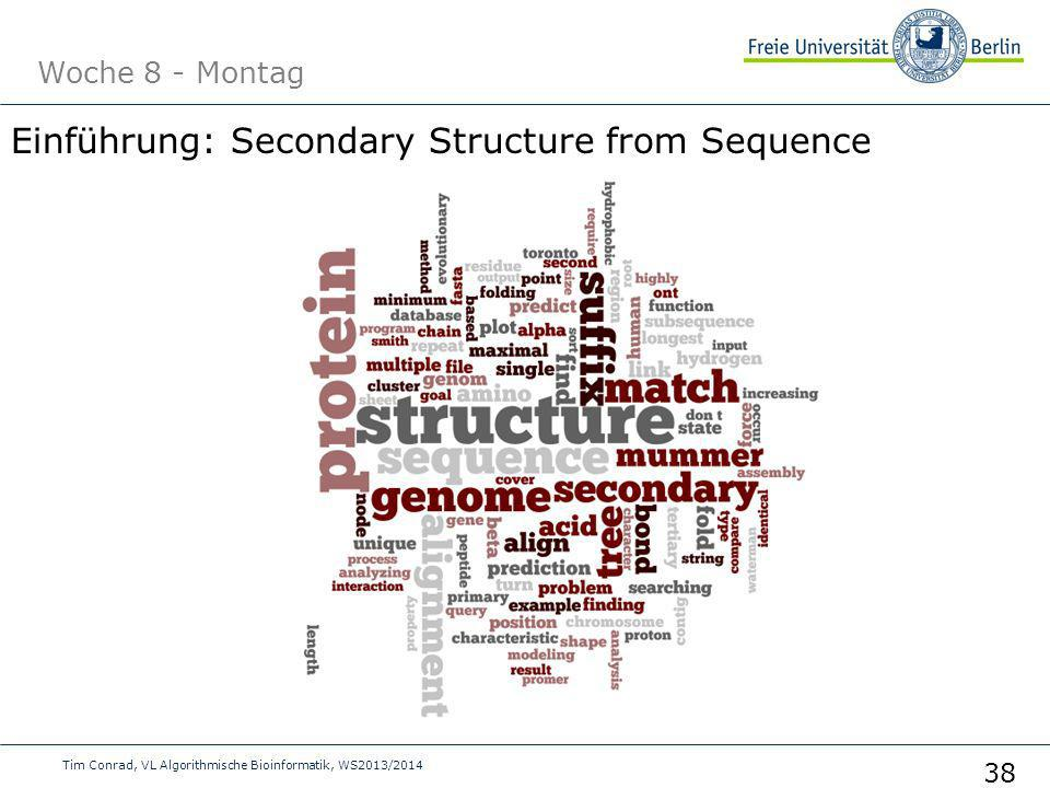 Einführung: Secondary Structure from Sequence