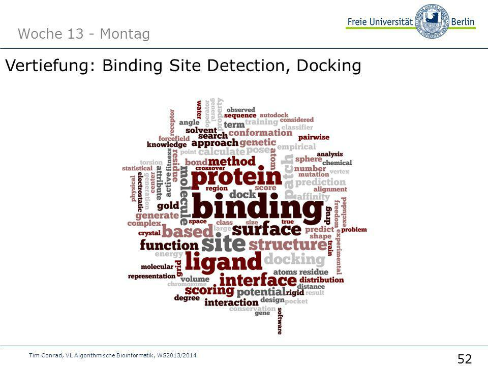 Vertiefung: Binding Site Detection, Docking