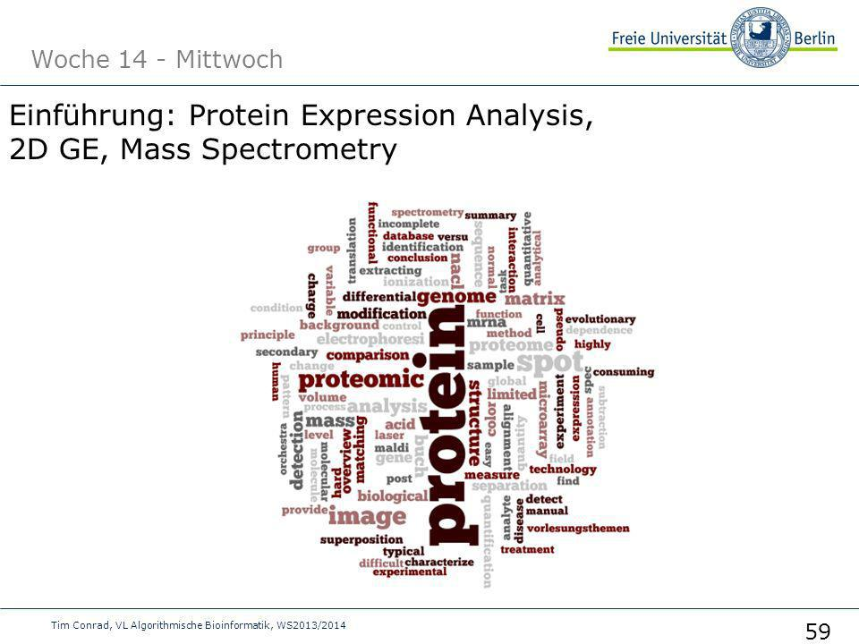 Einführung: Protein Expression Analysis, 2D GE, Mass Spectrometry