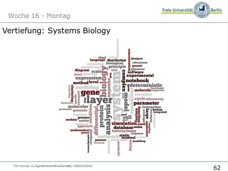 Vertiefung: Systems Biology