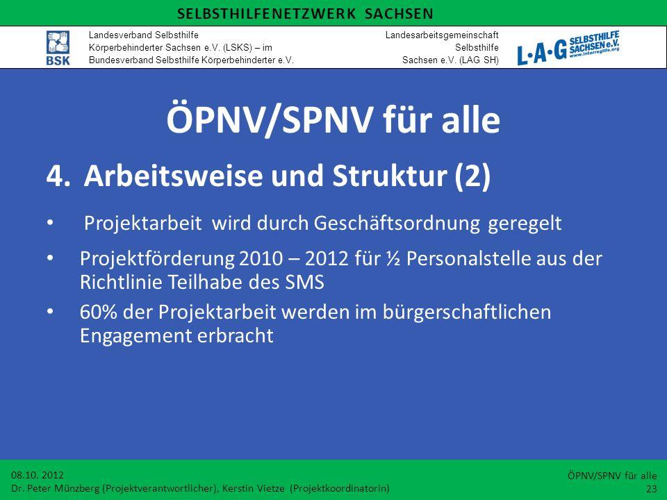 ÖPNV/SPNV für alle Arbeitsweise und Struktur (2)