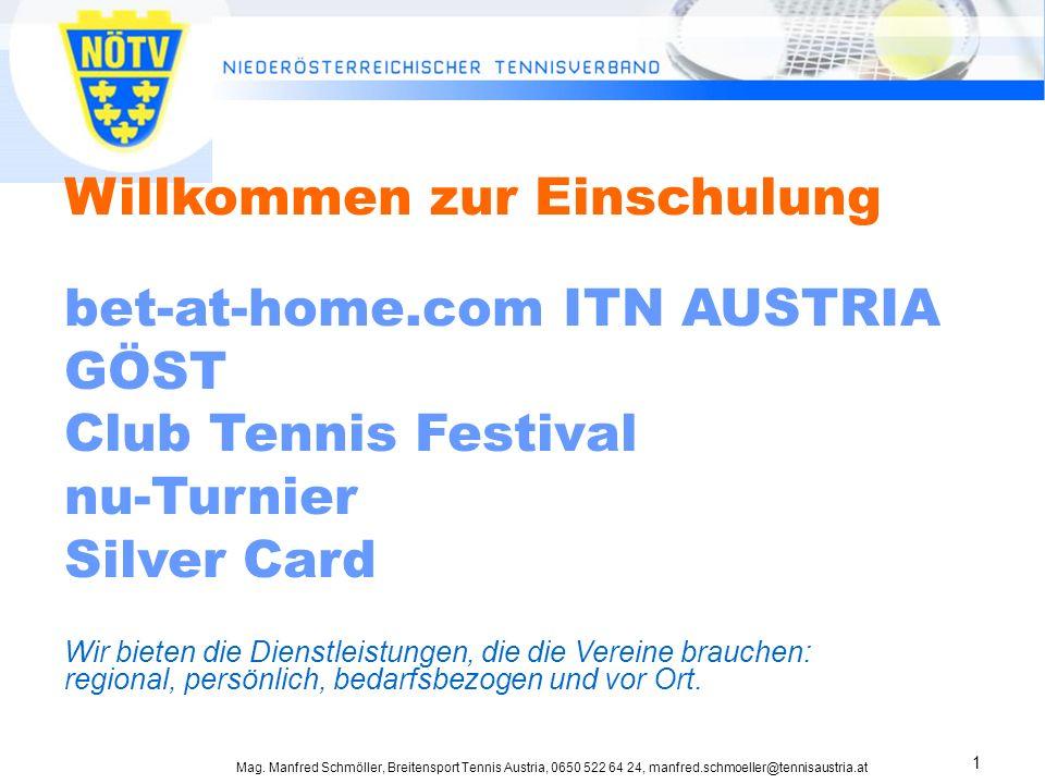 Willkommen zur Einschulung bet-at-home.com ITN AUSTRIA GÖST