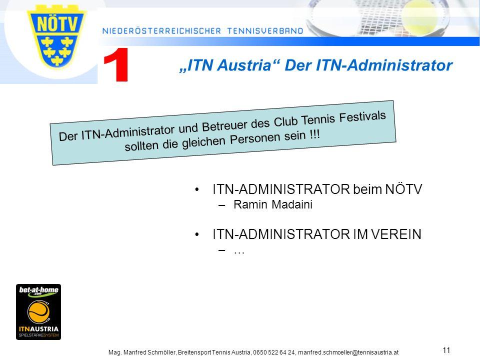 "1 ""ITN Austria Der ITN-Administrator ITN-ADMINISTRATOR beim NÖTV"