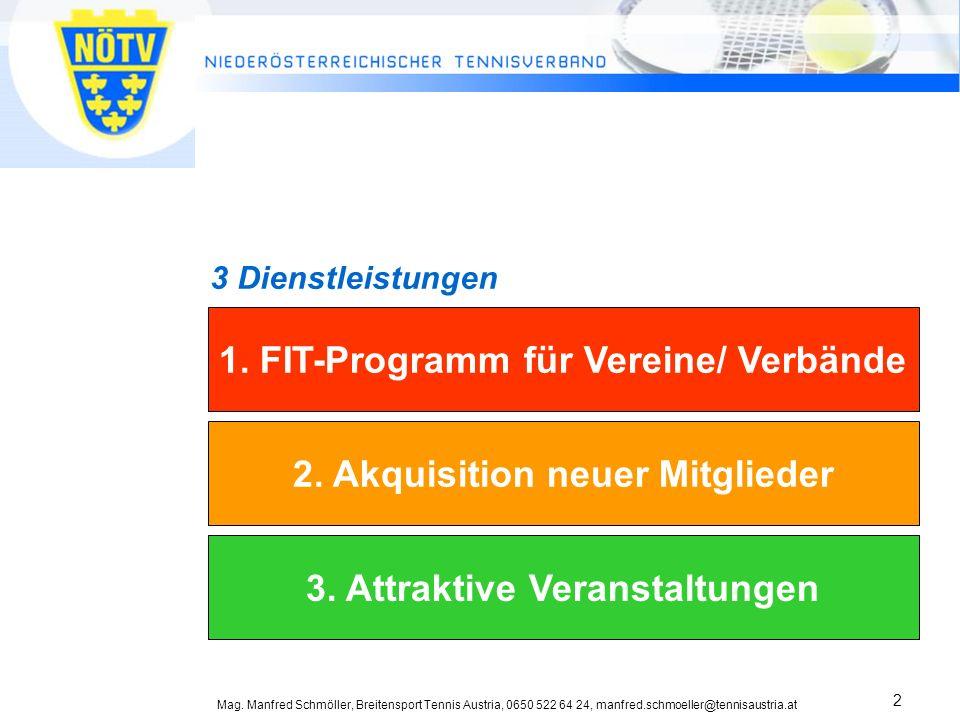 1. FIT-Programm für Vereine/ Verbände