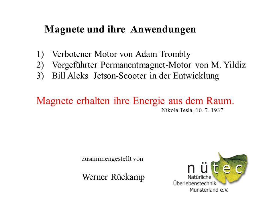 Magnete und ihre Anwendungen