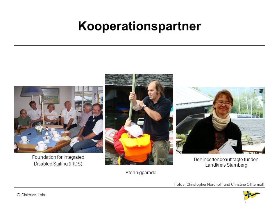 Kooperationspartner Foundation for Integrated Disabled Sailing (FIDS)