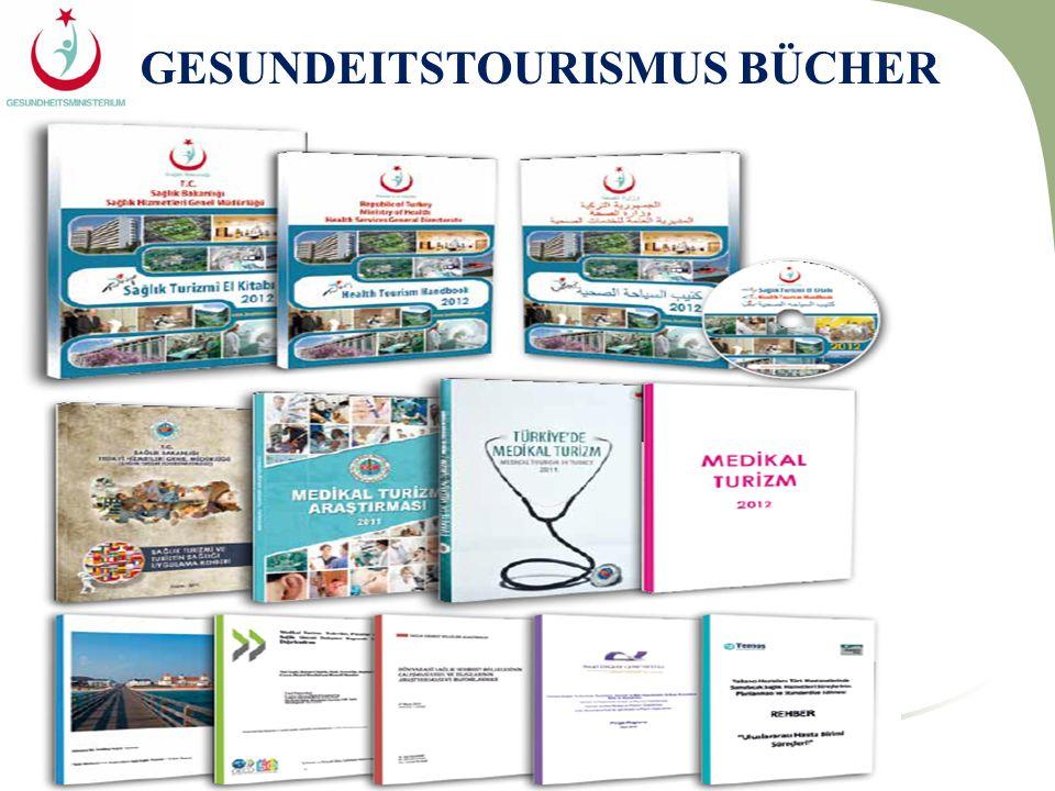 GESUNDEITSTOURISMUS BÜCHER