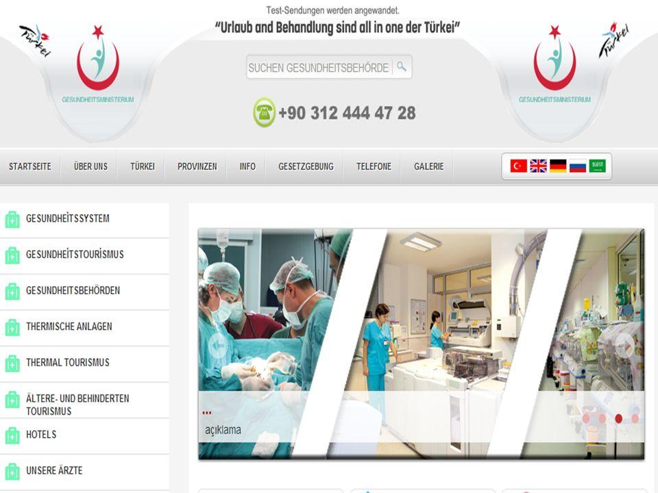 www.saglikturizmi.gov.tr / www.healthtourism.gov.tr