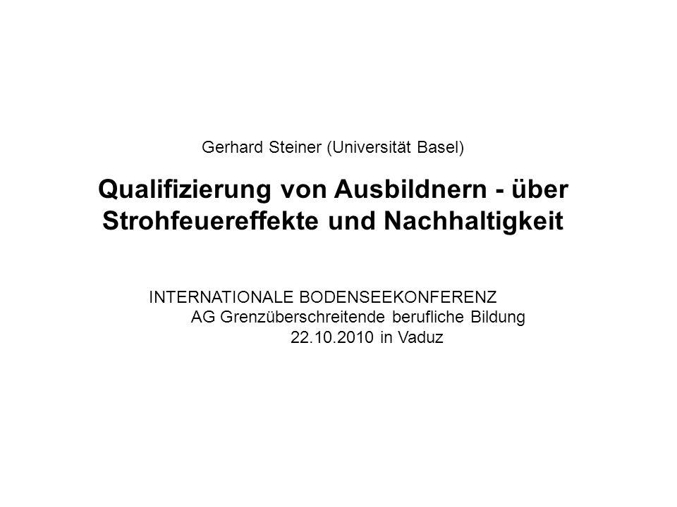 Gerhard Steiner (Universität Basel)