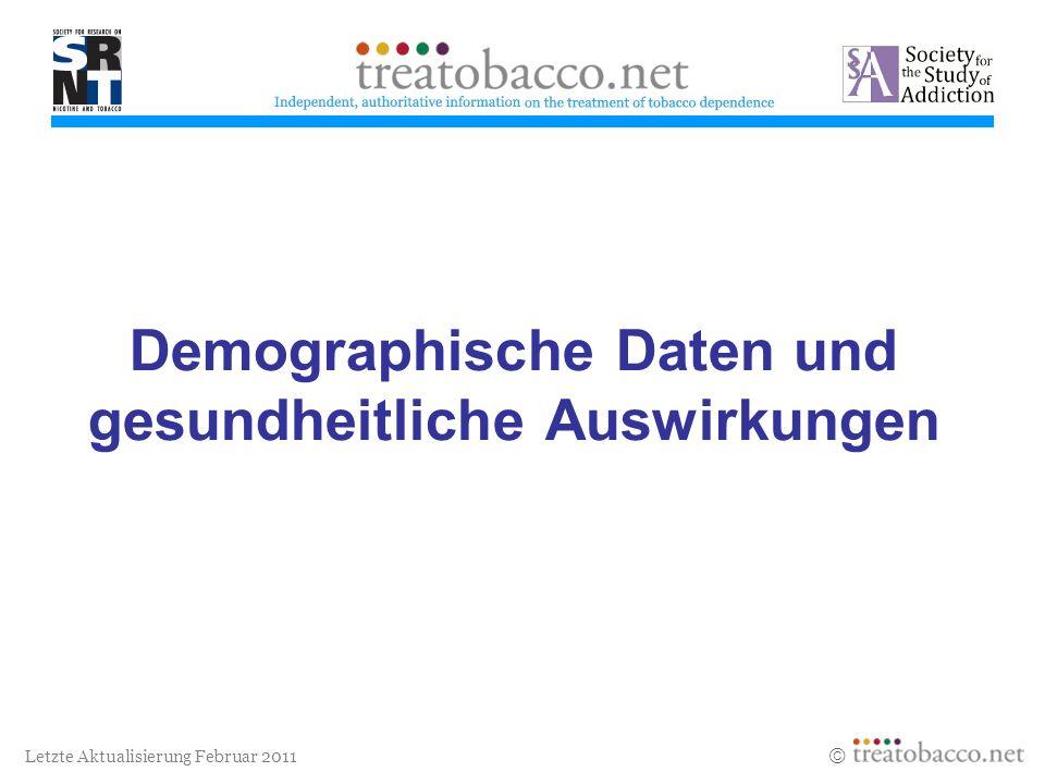 Demographische Daten und gesundheitliche Auswirkungen