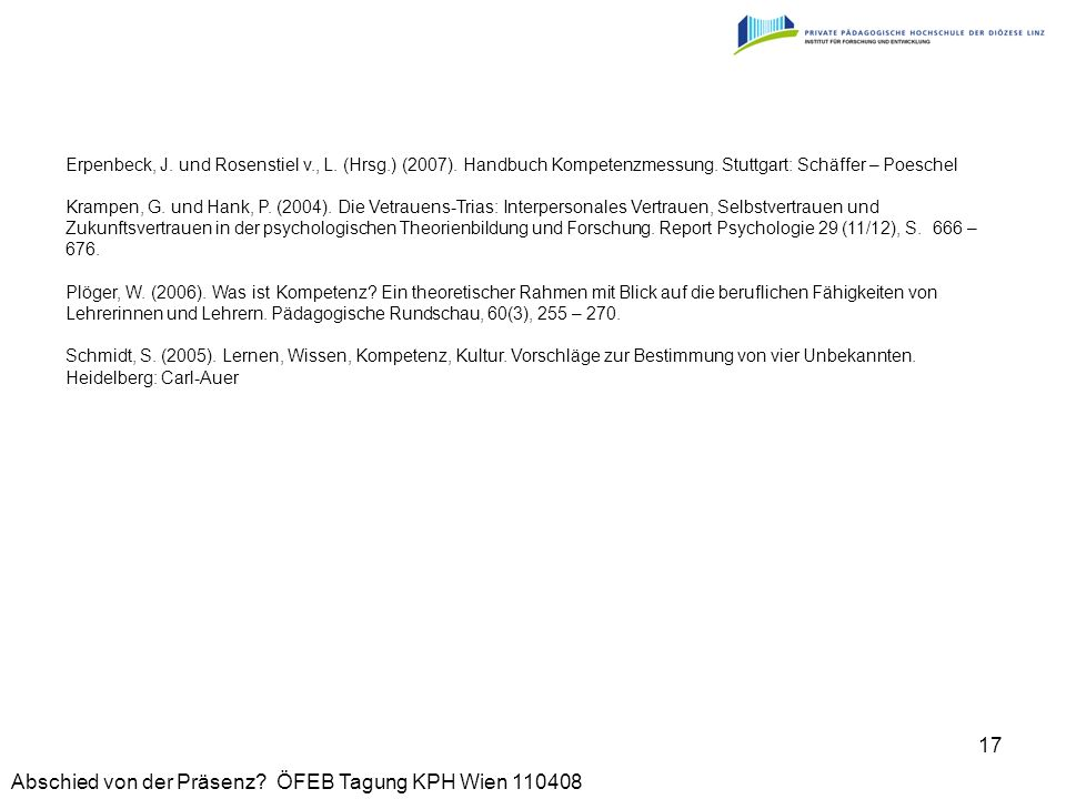 Erpenbeck, J. und Rosenstiel v. , L. (Hrsg. ) (2007)
