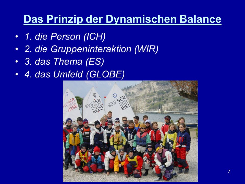 Das Prinzip der Dynamischen Balance