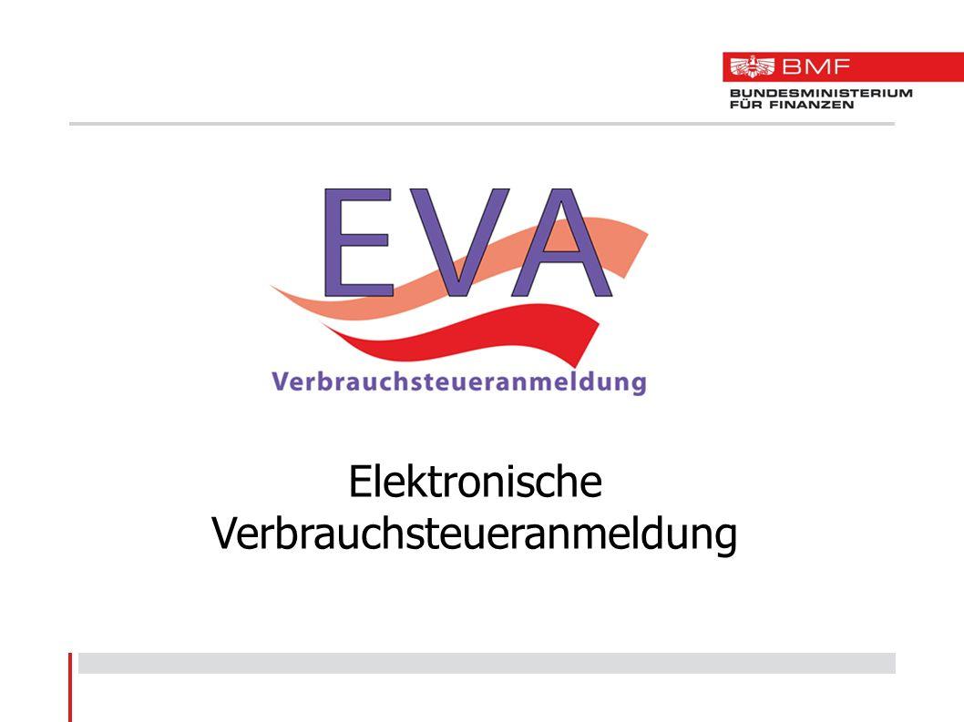 Elektronische Verbrauchsteueranmeldung