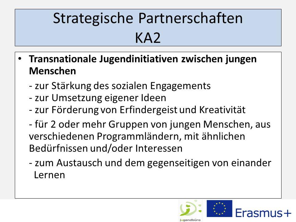 Strategische Partnerschaften KA2