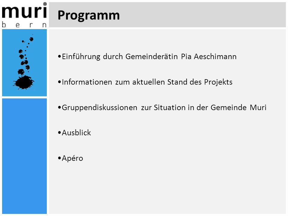 Programm Einführung durch Gemeinderätin Pia Aeschimann