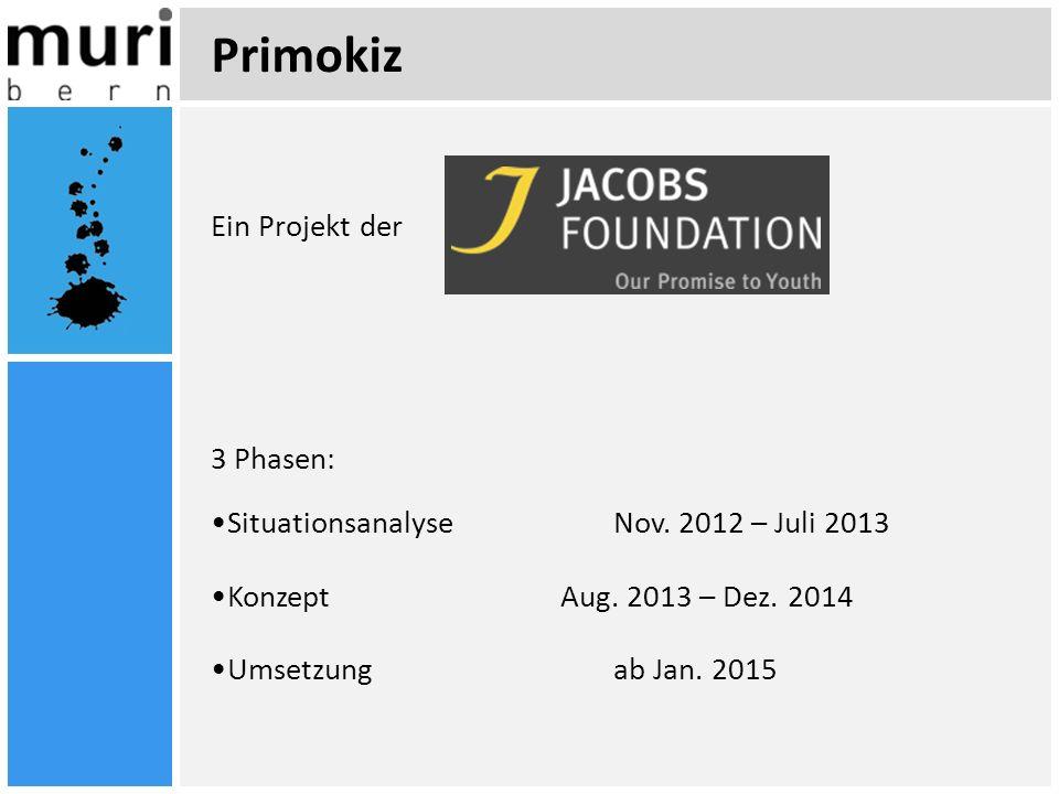 Primokiz Ein Projekt der 3 Phasen: