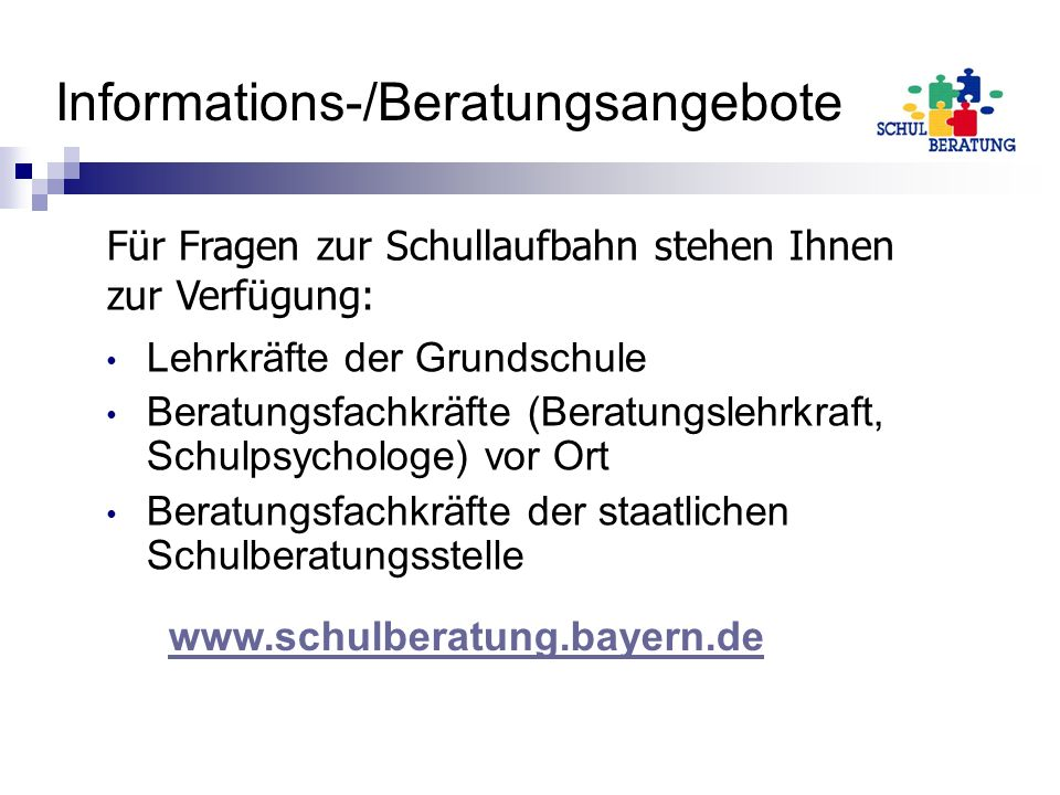Informations-/Beratungsangebote