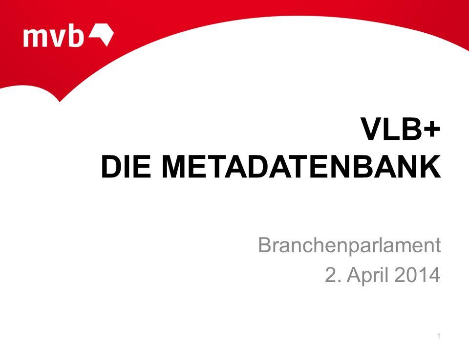VLB+ DIE METADATENBANK