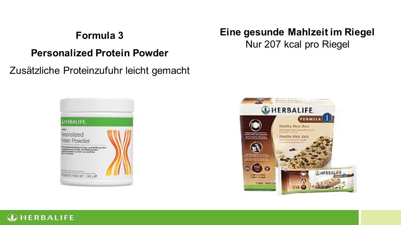 Personalized Protein Powder Eine gesunde Mahlzeit im Riegel
