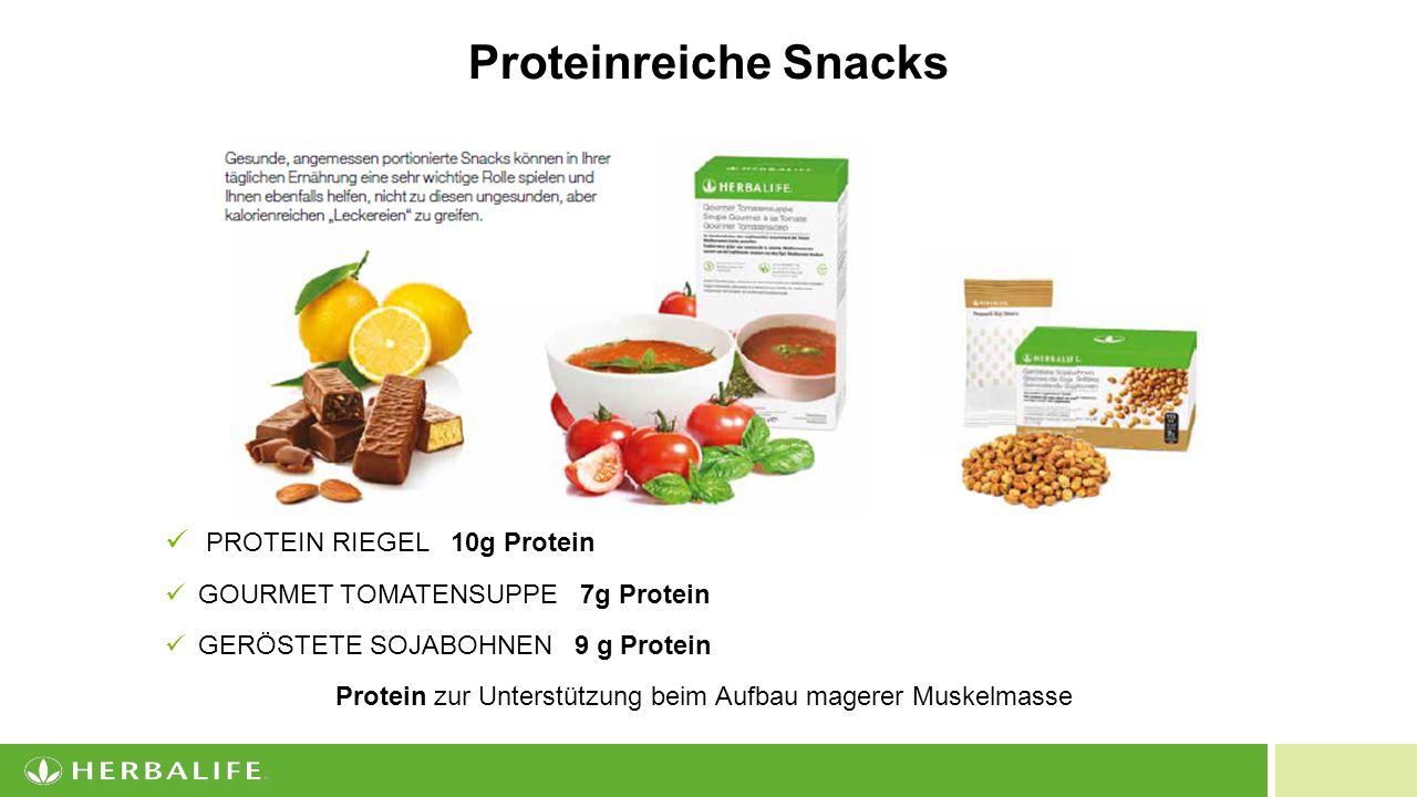 Protein zur Unterstützung beim Aufbau magerer Muskelmasse
