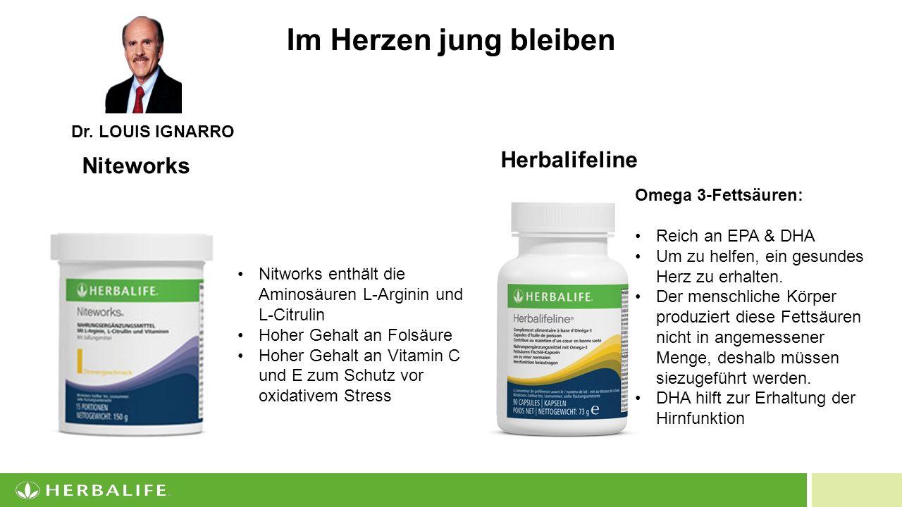 Im Herzen jung bleiben Herbalifeline Niteworks Dr. LOUIS IGNARRO