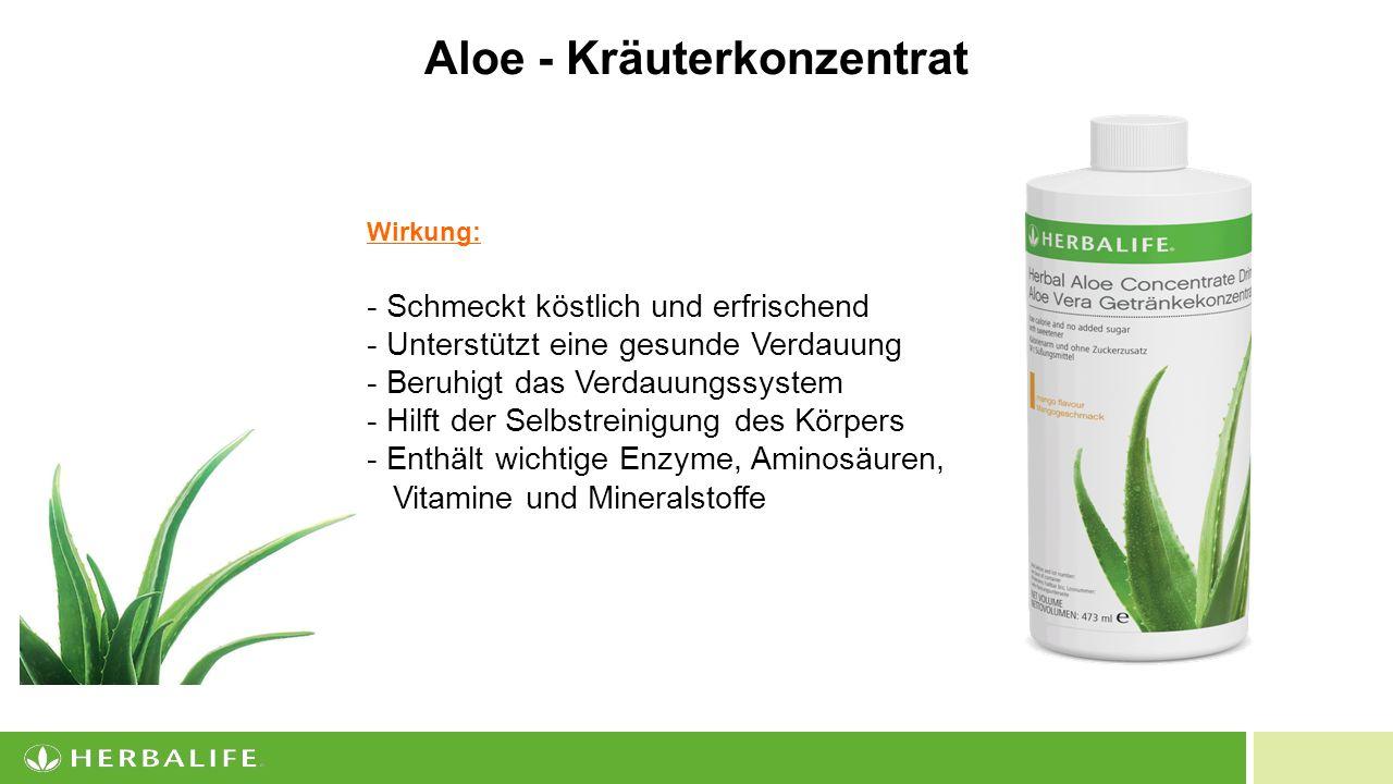 Aloe - Kräuterkonzentrat