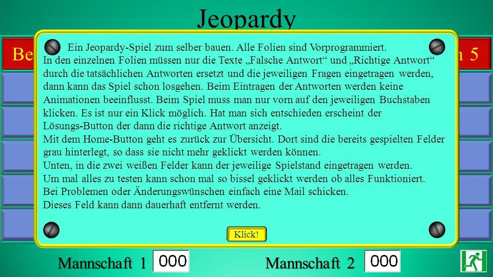 Jeopardy Günther Reinhold www.dl8wkm.de alkione@t-online.de 10 10 10