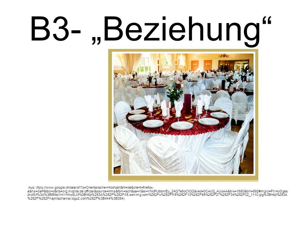 """B3- """"Beziehung"""