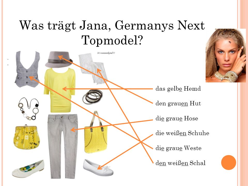 Was trägt Jana, Germanys Next Topmodel