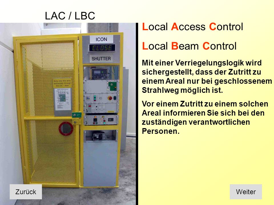 LAC / LBC Local Access Control
