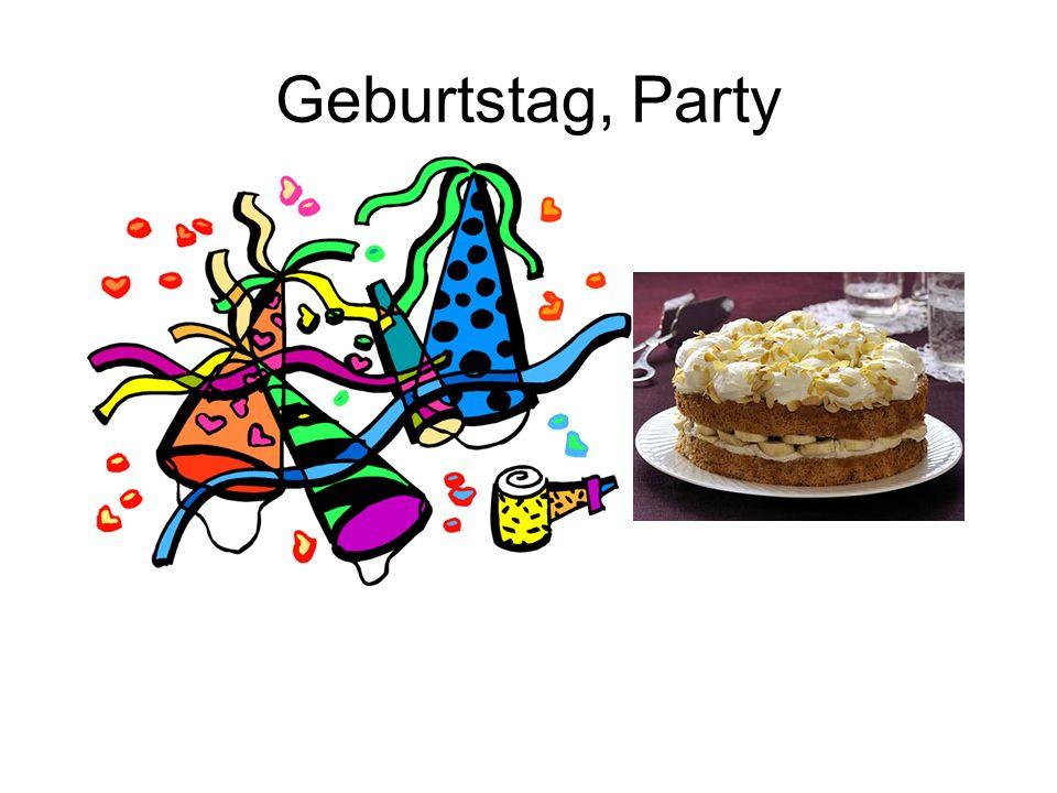 Geburtstag, Party