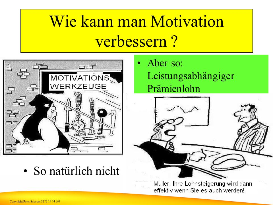 Wie kann man Motivation verbessern