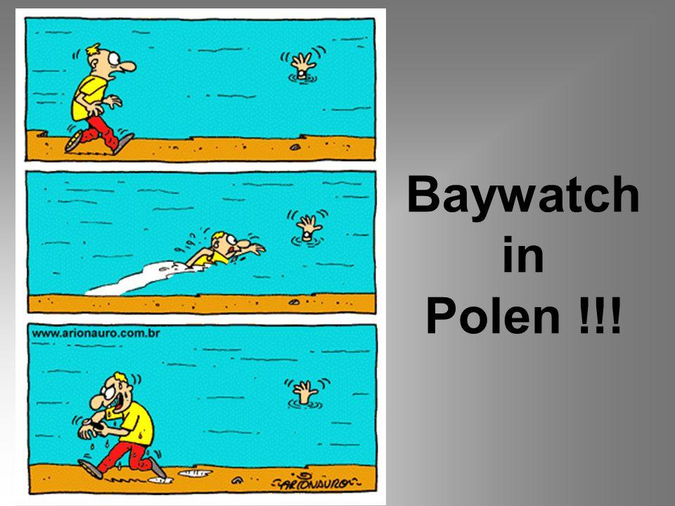 Baywatch in Polen !!!