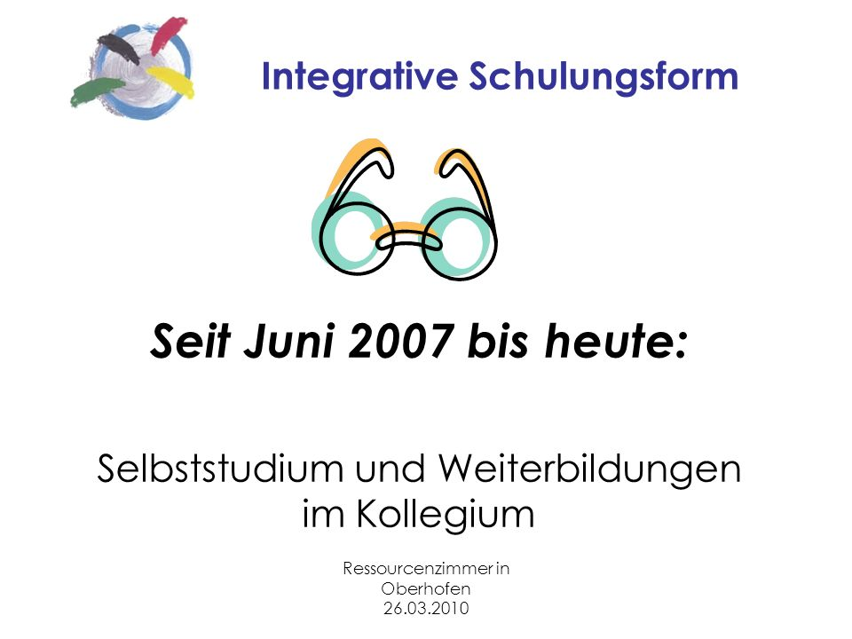 Integrative Schulungsform