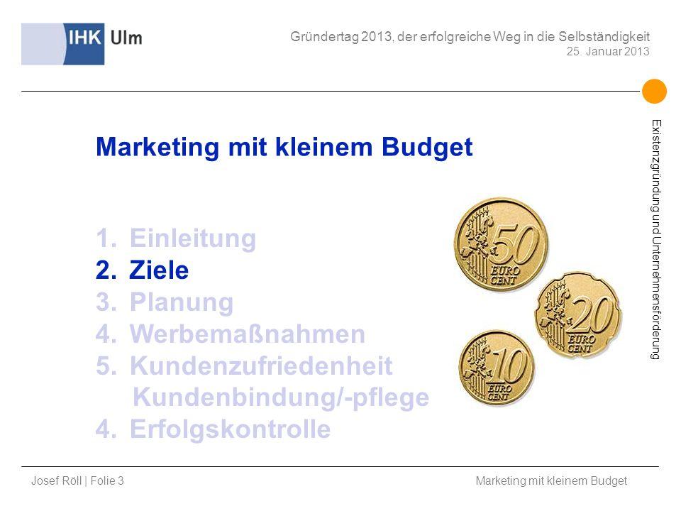 Marketing mit kleinem Budget