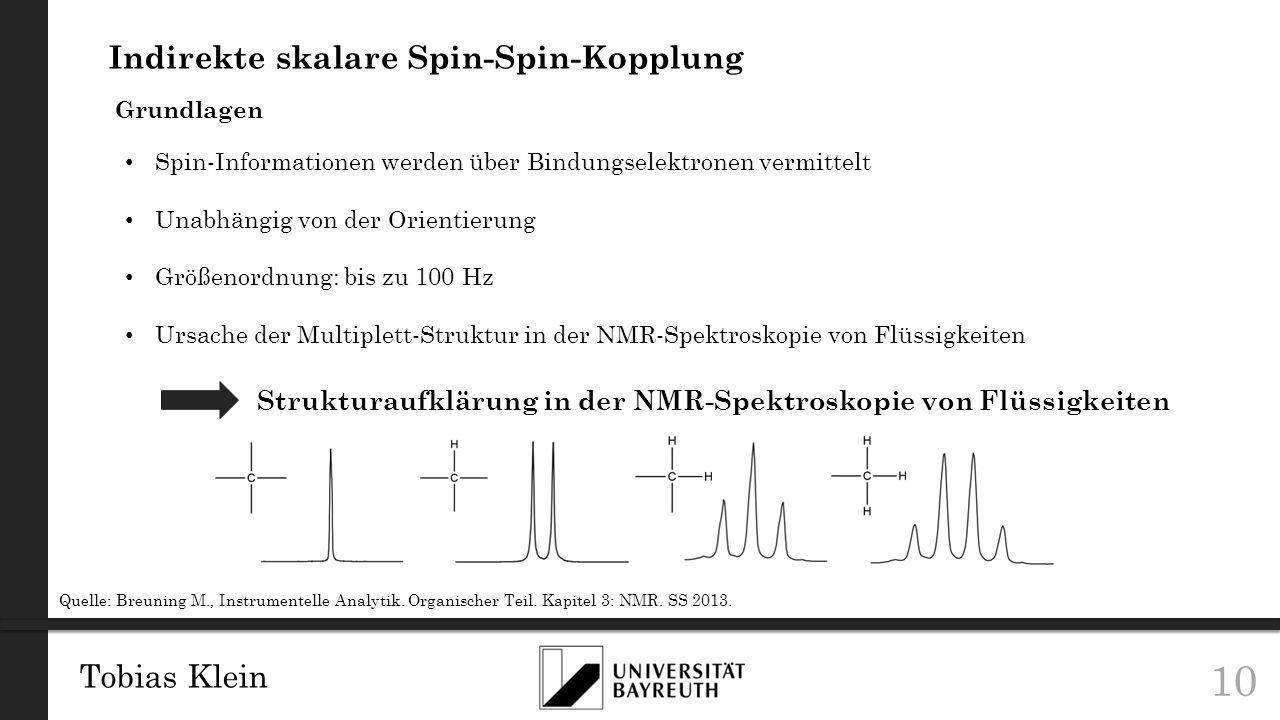 Indirekte skalare Spin-Spin-Kopplung