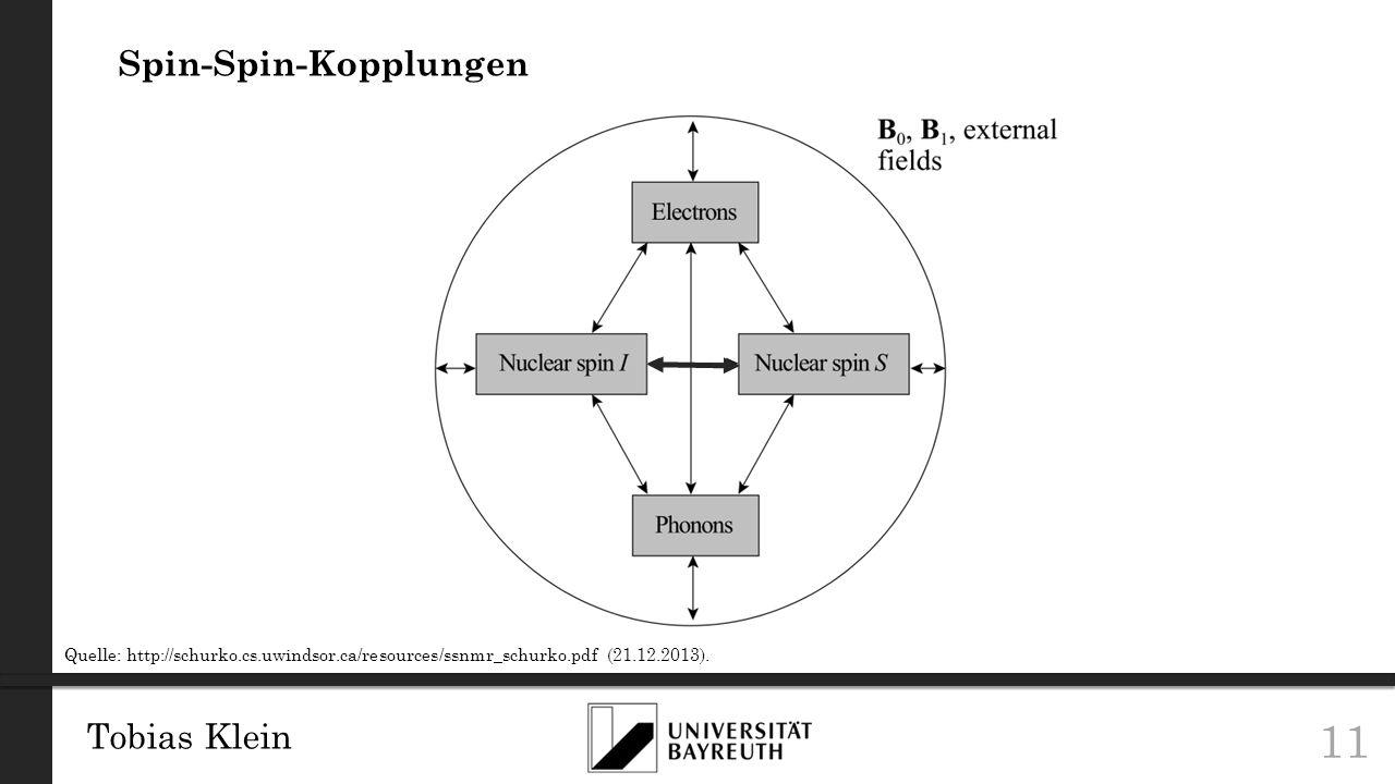 Spin-Spin-Kopplungen