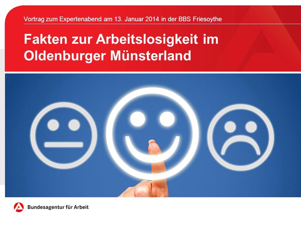 Fakten zur Arbeitslosigkeit im Oldenburger Münsterland