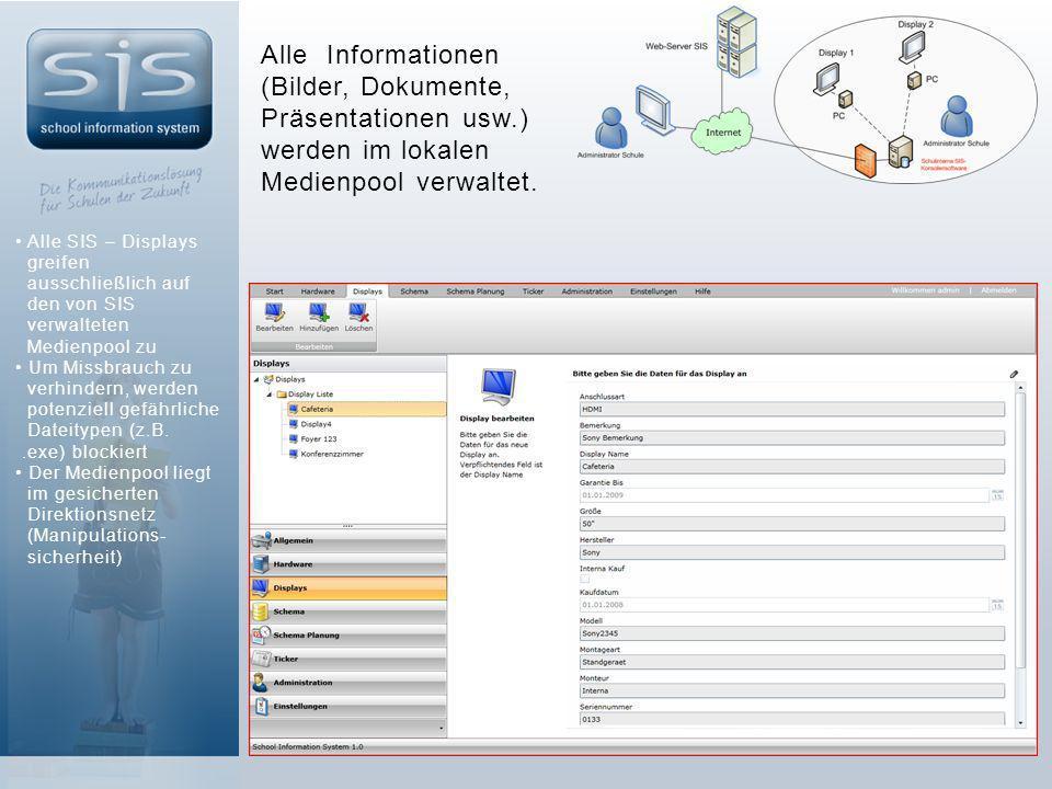 Alle Informationen (Bilder, Dokumente, Präsentationen usw