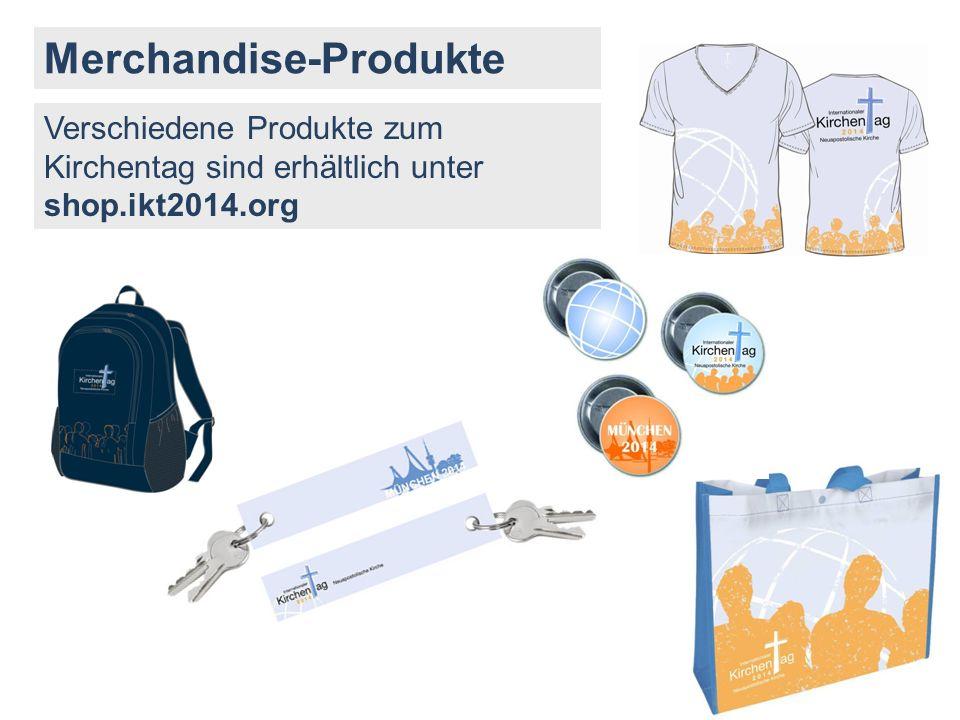 Merchandise-Produkte
