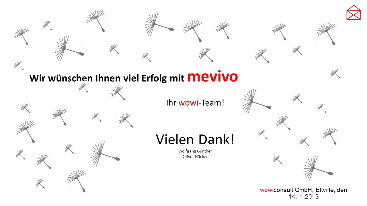 wowiconsult GmbH, Eltville, den 14.11.2013