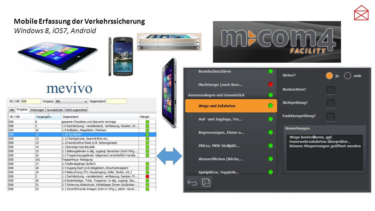 Mobile Erfassung der Verkehrssicherung