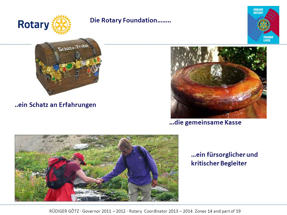 Die Rotary Foundation……..